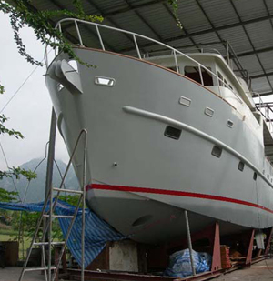 Work Boats For Sale >> Thailand boat builder building steel trawler yacht, aluminum power boats, landing craft and ...